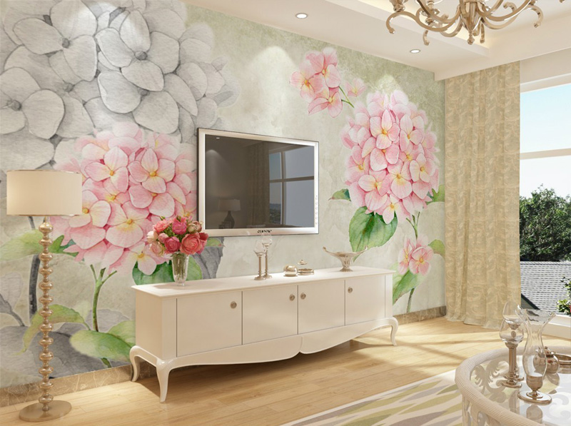 3D Wallpaper European Flowers photo wallpaper Wall Mural ...
