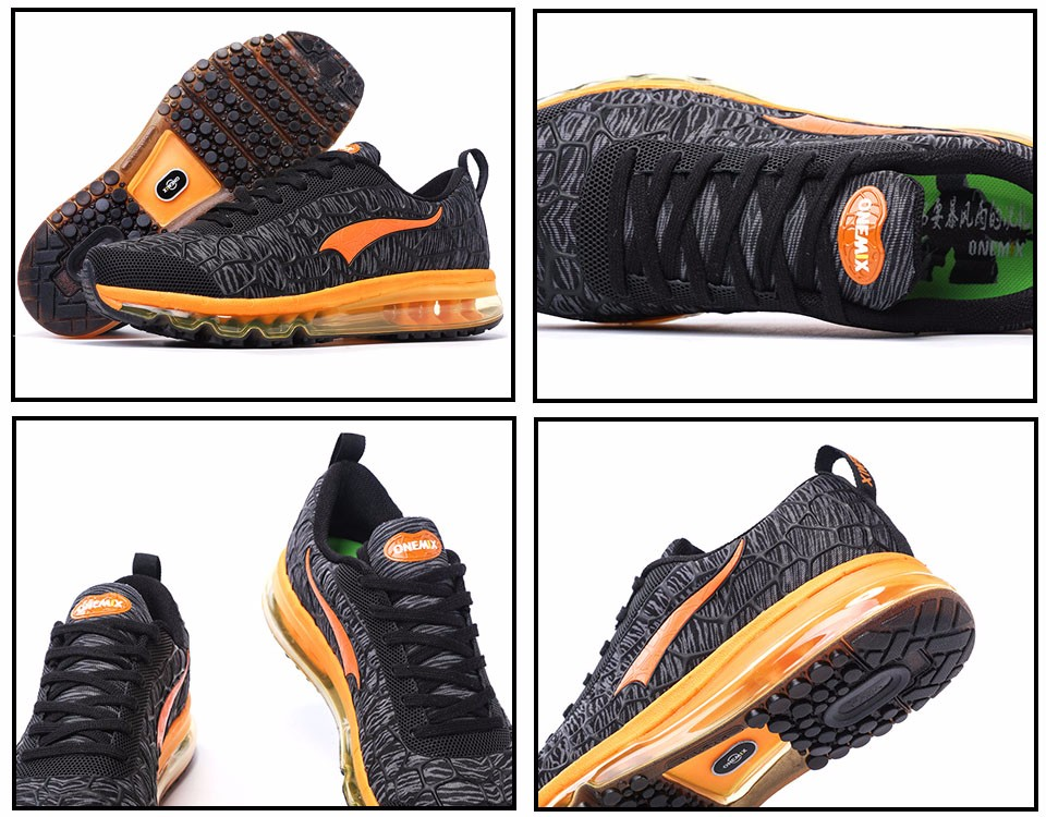 Onemix Brand 16 New Sports Running Shoes Sneakers for Men and Women Outdoor Walking and Running Breathable Good Quality 8