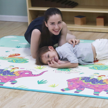Baby play floor odorless playing infant XPE foam cartoon thickened 150cm*200cm*1.2cm toddler crawling mat on sale mat005