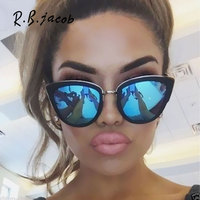 2017 New Style Cat Eye Women Sunglasses Summer Hot Sale Fashion Lady Sun Glasses For Men