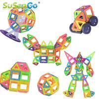 Magnetic Designer Building Blocks Model Kits Baby Enlighten Children Gift Kids Educational Toys