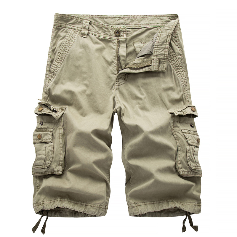New Brand Summer Men Military Loose Cargo Shorts Men Camo Summer Army Short Pants Homme Military Cargo Shorts