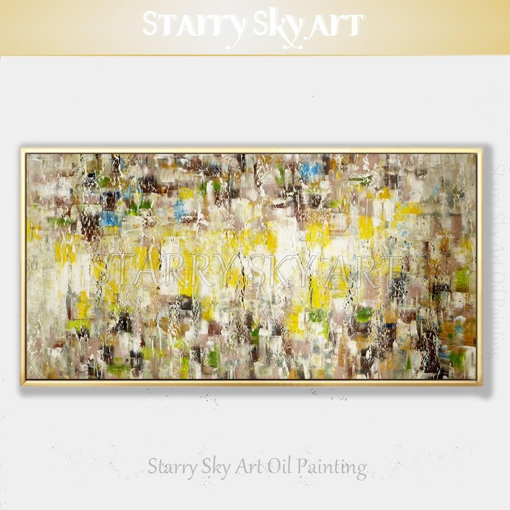 Art mural moderne pas de peinture à l'huile abstraite encadrée peint à la main de haute qualité peinture acrylique texturée abstraite pour la décoration murale