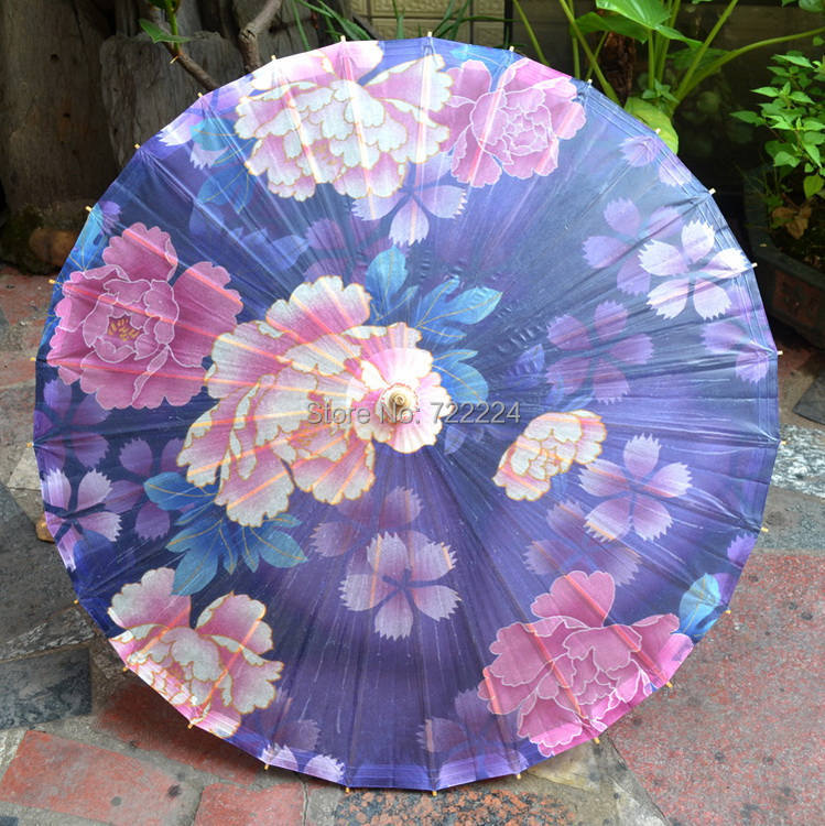 Free shipping chinese peony flowers picture oiled paper umbrella waterproof parasol decoration decoration props dance umbrella free shipping dia 84cm chinese paper parasol rain sunshade womens umbrella with anthemy picture handmade oiled paper umbrella