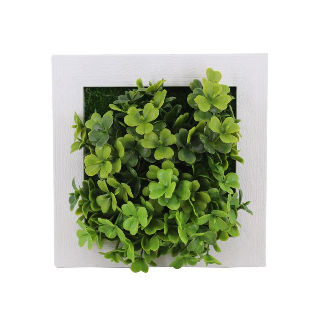 Пластиковая рамка для фотографий растений суккулентные растения орнамент креативная эмуляция настенный искусственный свадебный цветок рамка - Цвет: 14A