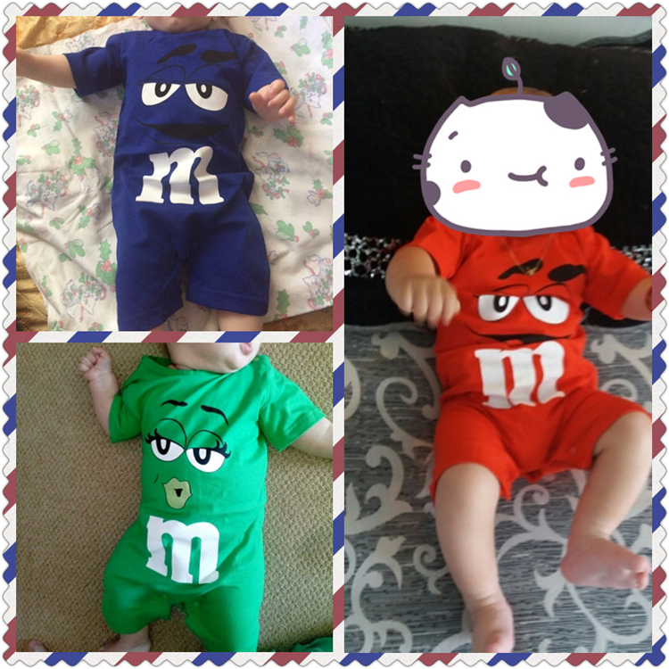 HTB1uBeIaYj1gK0jSZFOq6A7GpXaq 2019 Summer Baby Boy Romper Short Sleeve Cotton Infant Jumpsuit Cartoon Printed Baby Girl Rompers Newborn Baby Clothes 4 Color