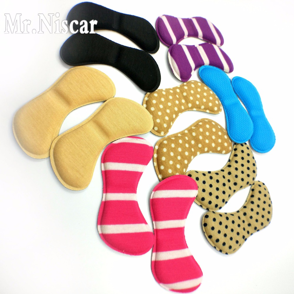 Mr.Niscar 5 Pair Butterfly-Shape Insoles High Heel Shoes Pad Super Soft Insole Non-slip Sponge Shoe Cushion Foot Heel Protector super soft vibration silicone gel insoles invisible high heels sottopiede pad non slip half a yard of the ball of your foot ins