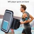 Execução de Fitness Esporte Mp3 Player Caso Faixa de Braço para ipod nano 5th gen, para ONN W6 W7 W8 X5, para Ruizu X06 X05 X02 Benji C1