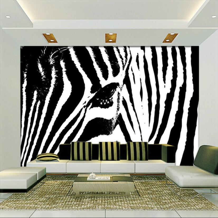 zebra wallpaper for bedrooms – Sistem As Corpecol