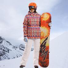 2016 Winter Skiing and Snowboarding Womens Ski suits Outdoor Hiking Snow Warm Waterproof Hooded Jacket Coat+Pants XXL