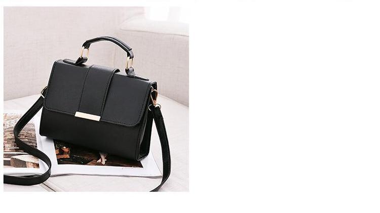 Women Bag Leather Handbags PU Shoulder Bag Small Flap Crossbody Bags for Women Messenger Bags 18