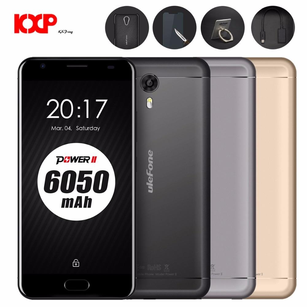 bilder für Ulefone power 2 4g phablet 5,5 zoll android 7.0 mtk6750t octa Core 1,5 GHz 4 GB RAM 64 GB ROM 13MP Haupt Kamera Fingerabdruck-scanner