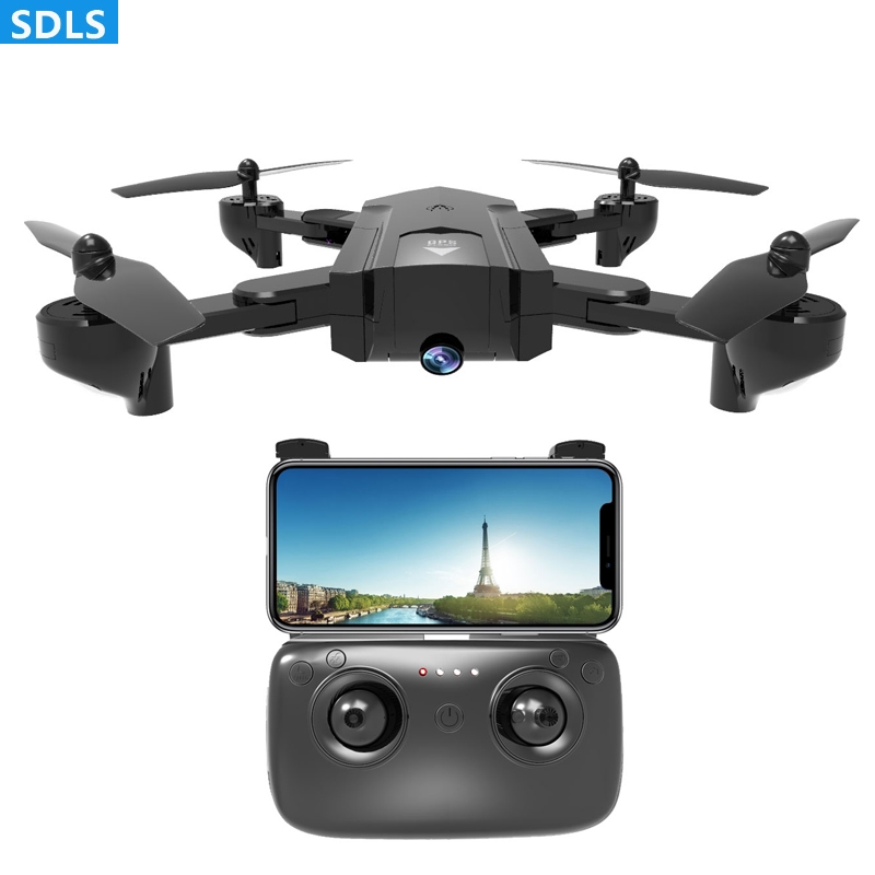 GPS Follow Me Mode 2.4G Foldable RC Drone GPS Quadcopters 1080P WIFI FPV Camera Altitude Hold Auto Return Fixed Point CirclingGPS Follow Me Mode 2.4G Foldable RC Drone GPS Quadcopters 1080P WIFI FPV Camera Altitude Hold Auto Return Fixed Point Circling