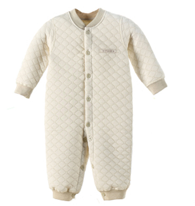 Newborn Baby Cotton Warm Thicken Baby Rompers Long Sleeve Natural Organic Winter Autumn Jumpsuit Top Quality Roupa Infantil 2016 warm thicken baby rompers winter long sleeve organic cotton autumn