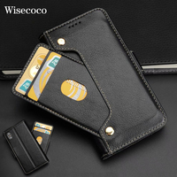 Luxury Wallet Case for Iphone X 10 Soft Genuine Leather Cradit Card Pocket Stand Book Case Flip Cover for Iphone 8 7 6 6s Plus