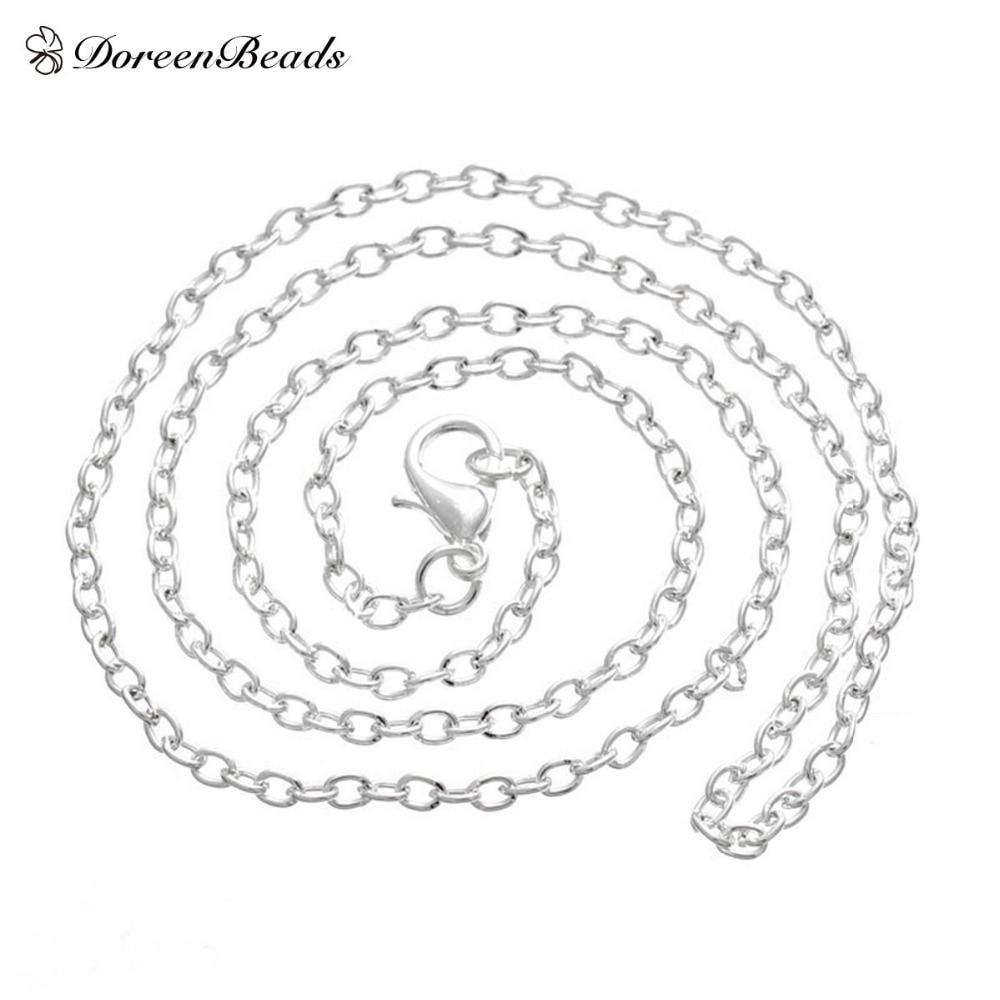 DoreenBeads Silver Color...