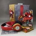 Marvel The Avengers Железный человек красная-желтая игровая гарнитура 3 5 мм серия Super Hero стерео microlite soprt проводные наушники подарок