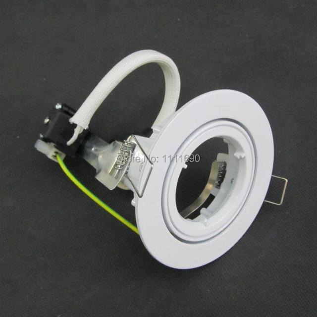 Weiß runde einbau gu10 LED Downlight Kit Decke Einbau Trim Leuchte ...