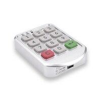 2 Sets Metal Electronic Digital Password Lock Password Keypad Number For Cabinet Door Drawer Code Locks