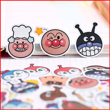 40 pcs Cartoon cute personalized scrapbook Stickers scrapbooking material sticker happy planner decoration craft