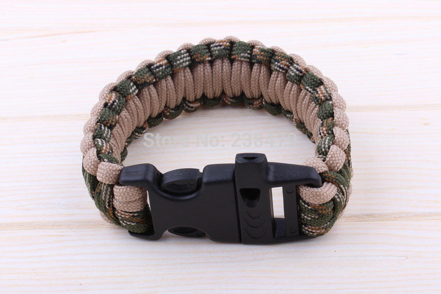 Paracord Survival Bracelet choose your size and colour