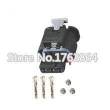 5 ШТ. Tyco AMP 3 Pin Водонепроницаемые Разъемы для Автомобилестроения импортированный первоначально DJ7032C-1.5-21 Авто Разъем Провода С Клеммами