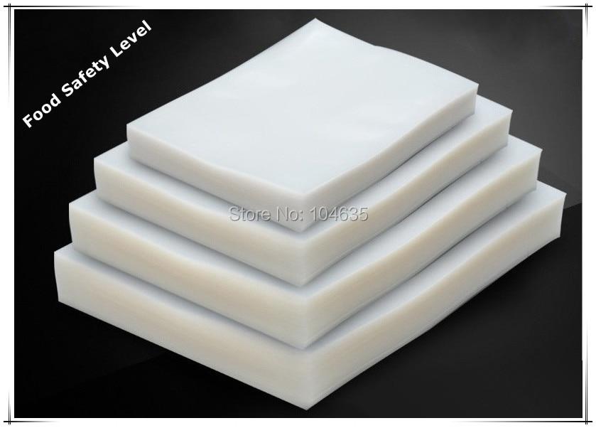 Vacuum Heat Sealer Food Saver Bags Saran Wrap Food Storage Plastic Bags 20pcs/lot