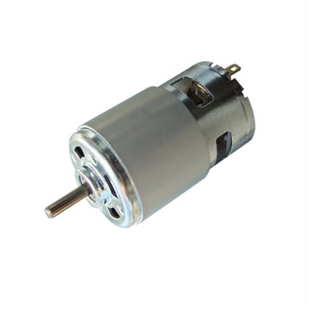 High Quality 775 Motor 12V 24V 60W DC Double Ball Bearing Motor High Speed High Torque for Hair Dryer Power Tools aiyima double ball bearing motor dc 12v dc 24v three phase hall dc brushless motors high torque mute wind turbines for diy