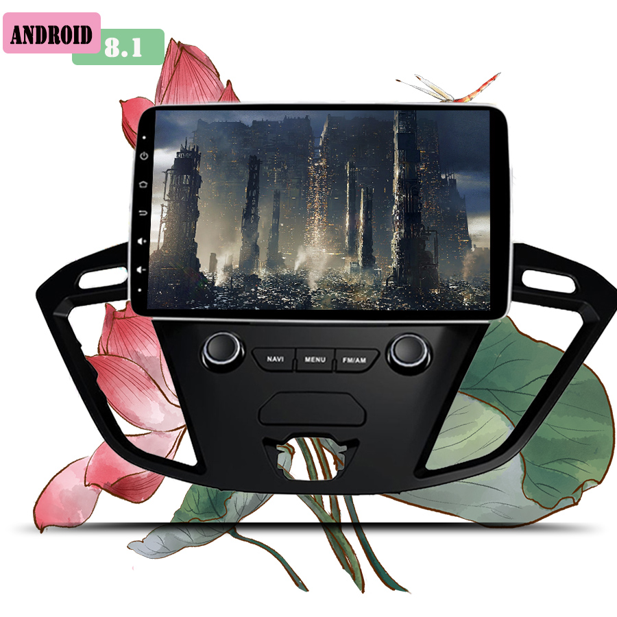 2 Din 9 Inch Car DVD Player For Ford Tourneo/Transit 150/250/350/350 2013-2018 With 3/4G Radio GPS Navigation 1024*600 Head unit