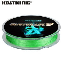 KastKing Superkast 9 Strands 275M Zero Stretch Technology Weaves Fishing Line Super Strong Carp PE Braided Multifilament Line