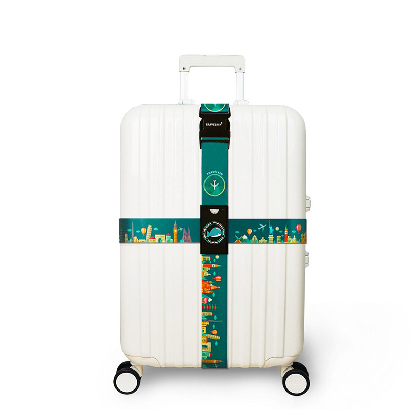 Luggage-Straps Suitcase-Belts Travel-Tags-Accessories Color Cross Polyester 18-32-Z-115