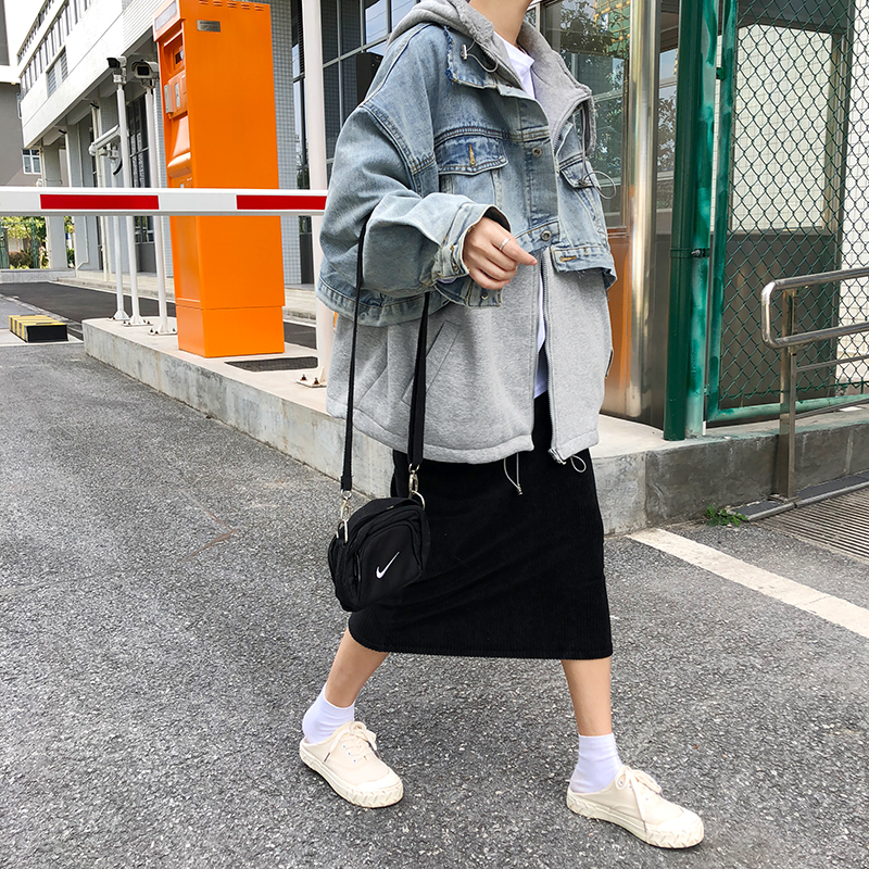 Jean Manches Denim As Longues Manteau Femmes Épaissie Getsring Veste Nouveau Tops Couture À Long Picture Capuchon Lâche tFqTWUwx