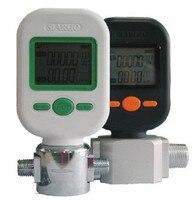 MF5706 Gas Mass Flow Meters Digital Gas Flow Meter Sensor Compressed Air Digital Display Meter 0 10L
