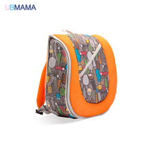 High quality multifunctional double shoulder backpack baby crib portable bed baby travel bag baby diaper change bed mummy bag