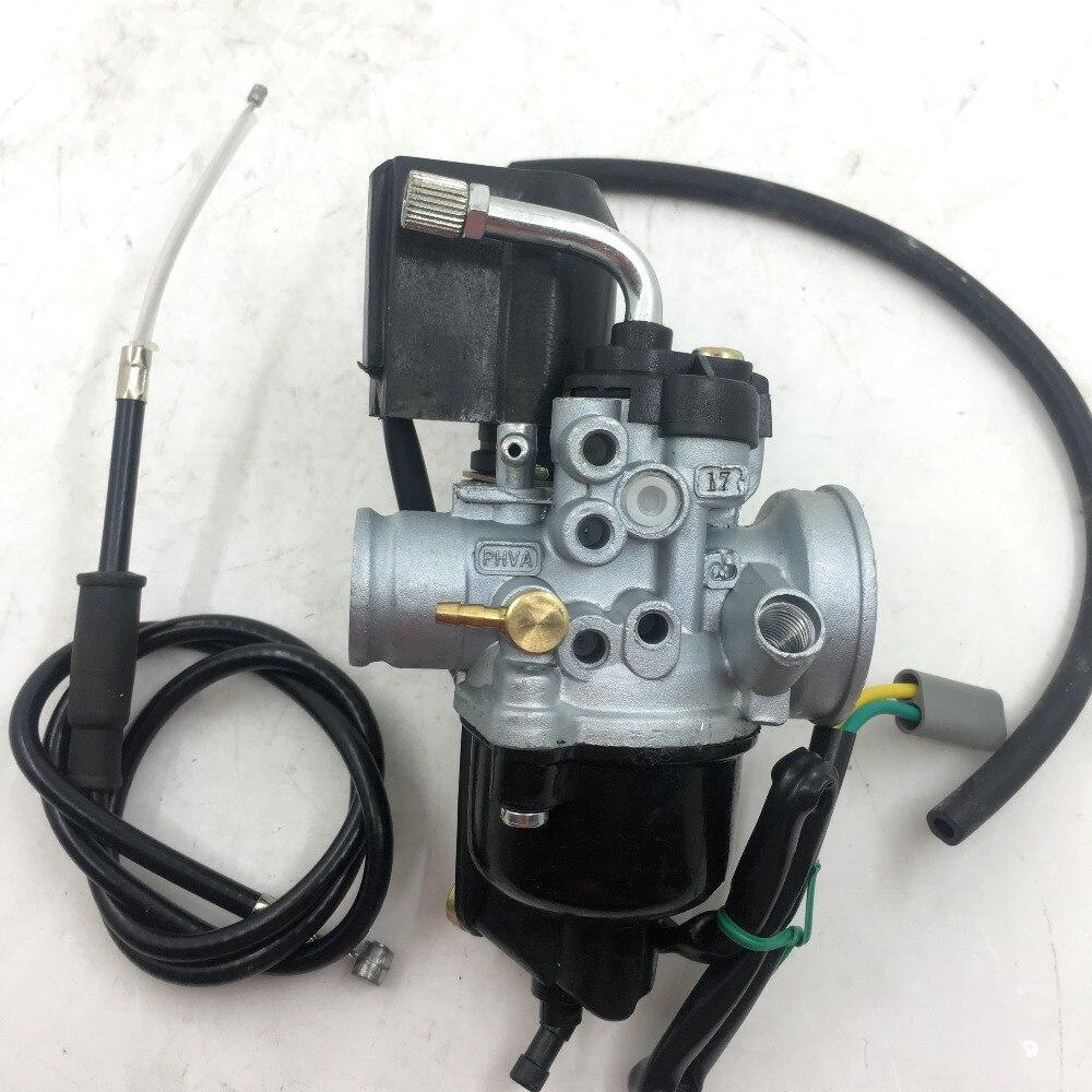 SherryBerg carburateur carby remplacement cyclomoteur/copie de poche de Dellorto pour carburateur PHVA17 PHVA17.5 PHAV 17 PHVA 17.5
