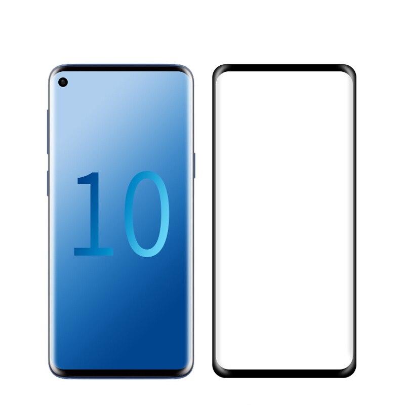 Изогнутое стекло с полным покрытием для Samsung Galaxy S10 Lite 2019, защита экрана, защитная пленка для Samsung S10 Plus S10 + искусственное стекло