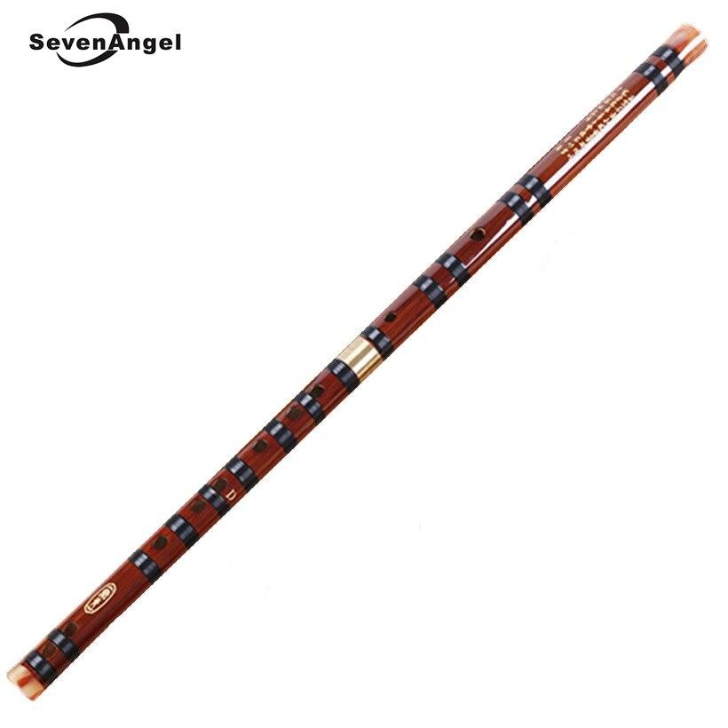 Haute Qualité Bambou Flûte Professional Bois dizi instruments de Musique C D E F G Clé Chinois dizi Transversale Flauta Xiao