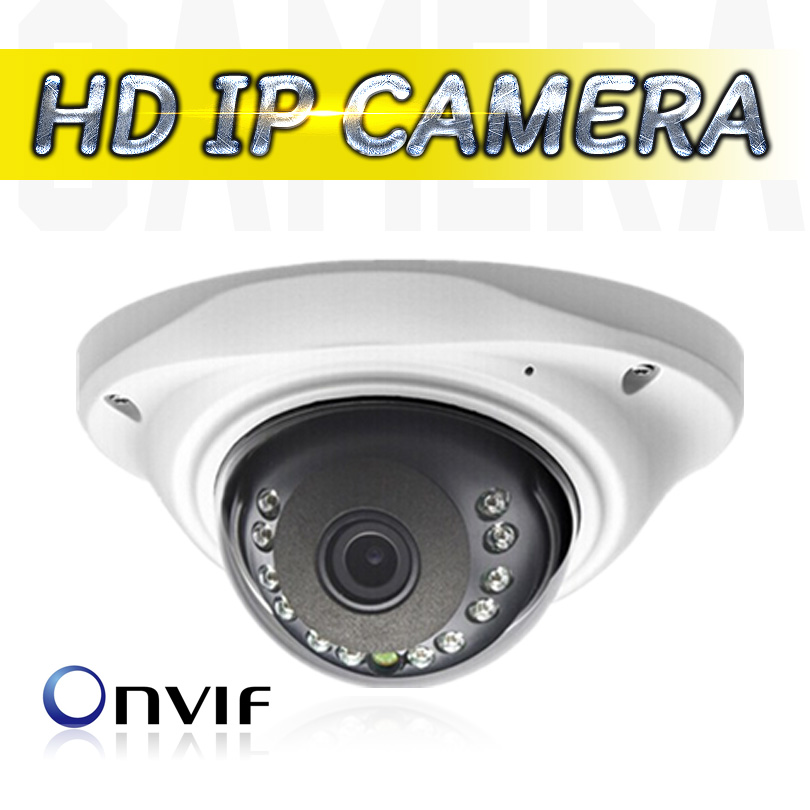 IP Camera 1280*720P H.264 Onvif 2.0 48LED With IR-Cut Filter Indoor Support P2P Smart Phone View IP Security Camera Network