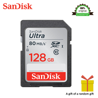 High Speed Sandisk SD Card Class10 128GB TF Card Memory Card 80MB/S Original Flash Real Capacity Stick For Camera free shipping