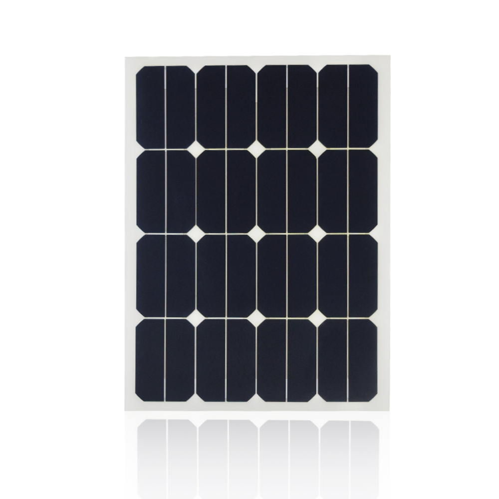 Xinpuguang 18V <font><b>30</b></font> <font><b>w</b></font> 40w 50w 60w flexible <font><b>solar</b></font> <font><b>panel</b></font> with cable cell photovoltaic for 12V battery RV car boat image