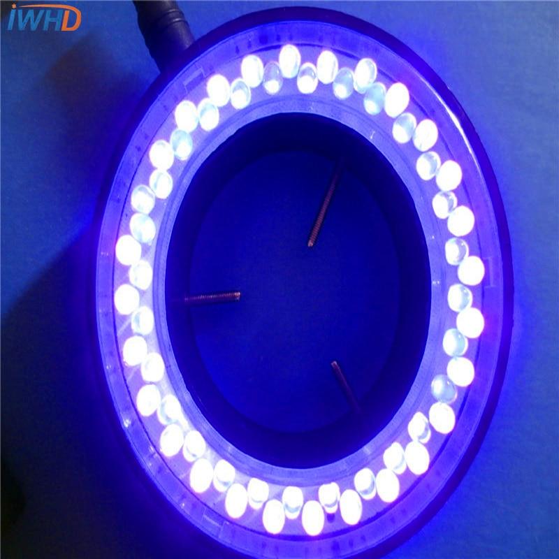 UV диаметър 60 мм микроскоп светодиоден източник на светлина медицинско оборудване осветление индустриална специална светлина откриване източник