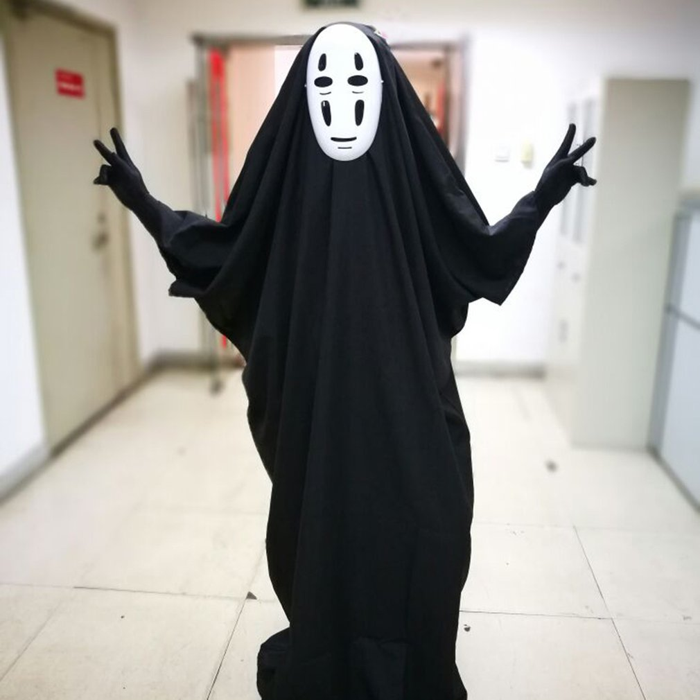 no face man spirited away cosplay costume for halloween costumes