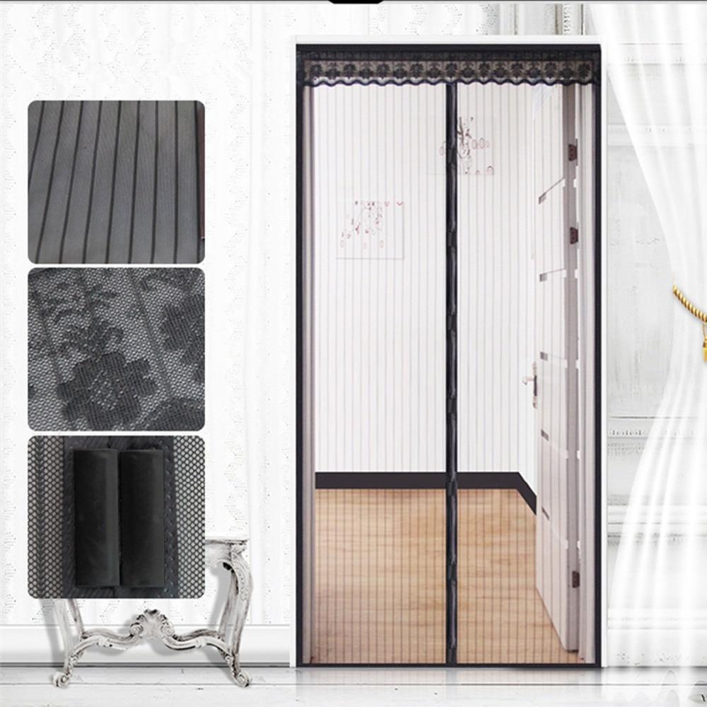 Fuya Magnetic Sheer Door Curtain Instant Screen Door Mosquito Net