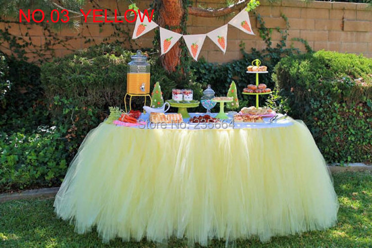Hot Sale Decoration Tulle Table Tutu Custom Winter Wonderland Skirt Birthday Baby Shower Princess Holiday In Skirts From Mother Kids On Aliexpress