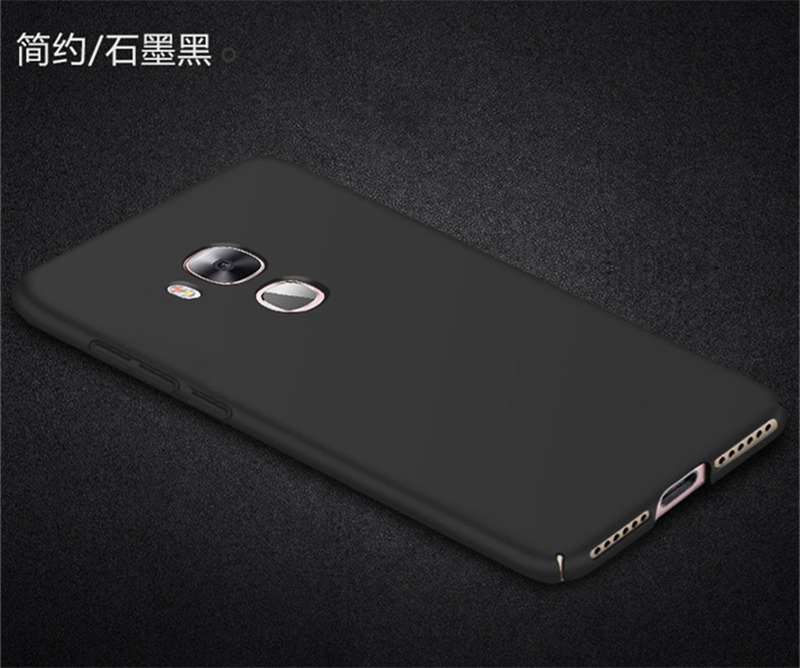 For Capa Huawei Nova Plus Case Slim Smooth Ultra thin PC Case For Huawei Nova Plus Cover For Huawei G9 Plus Maimang 5 HATOLY in Fitted Cases from Cellphones Telecommunications