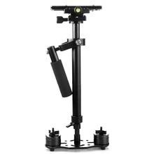New S60 S-60 + Plus 3.5kg 60cm Aluminum Handheld Stabilizer Steadycam Steadicam DSLR Video Camera free shipping