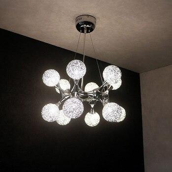מסעדה אמנות נברשת מסעדה מודרנית מינימליסטי סלון אישיות מחקר חדר שינה אור חם רומנטי תליית מנורות-באורות תלויים מתוך פנסים ותאורה באתר