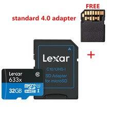 プロモーション!!! 16 ギガバイト 32 ギガバイトレキサーマイクロ SD Sdhc メモリーカード高速 64 ギガバイト 128 ギガバイトのマイクロ SDXC カード TF カード Class10 633 × 95 M/s