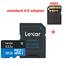 Promotion!!! 16 GB 32 GB carte mémoire Micro SD SDHC Lexar haute vitesse 64 GB 128 GB carte Micro SDXC carte TF Class10 633X95 M/s