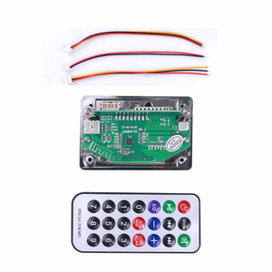 Image 5 - kebidu Car USB MP3 Player Integrated Bluetooth Hands free MP3 Decoder Board Module Remote Control USB FM Aux Radio for Car